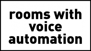 theLAB LIFESTYLE has rooms with voice automation