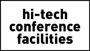 theLAB offers high-tech conference facilities